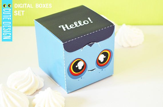 BUY 2 GET 1 FREE any items  3 digital template design boxes
