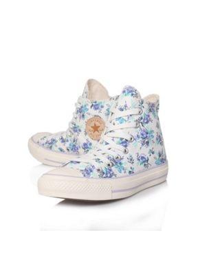 Converse Floral at Hose of Fraser @House of Fraser #shoes #converse #allstar