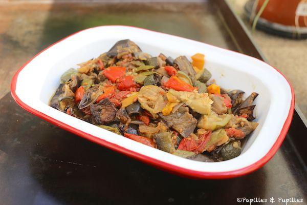 Légumes rôtis confits au four »