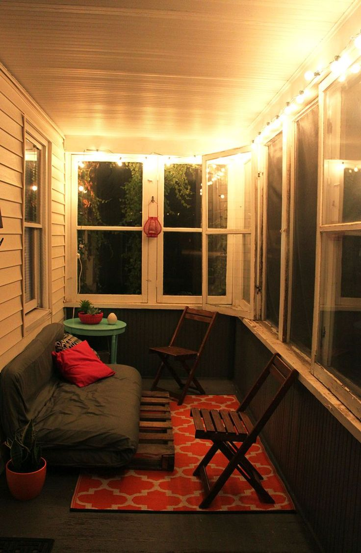 Bright & colorful front porch makeover