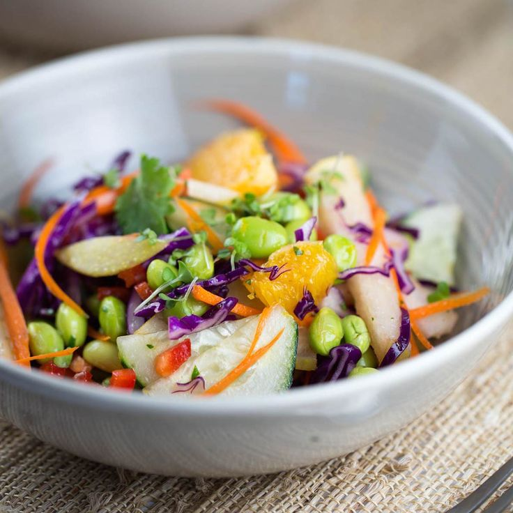... Body Cleanse Approved™ Asian Pear Salad with Orange Ginger Dressing