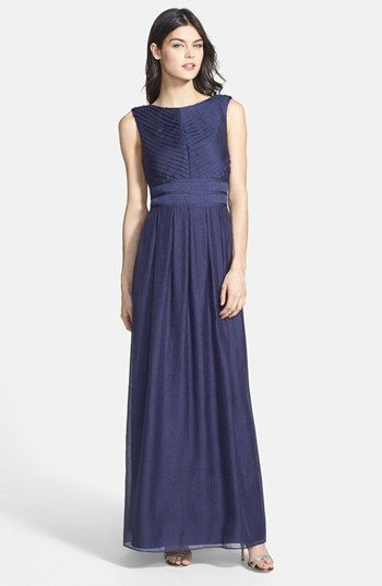 Ivy & Blu Pleat Crinkled Chiffon Dress available at #Nordstrom