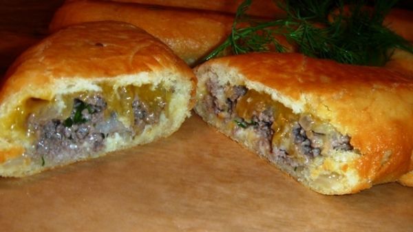 Beef & Cheese Piroshki Recipe