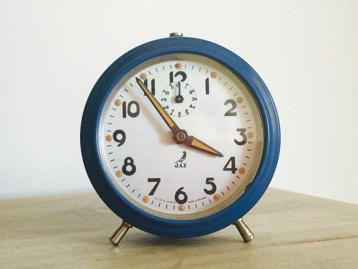 Jaz alarm clock -blue