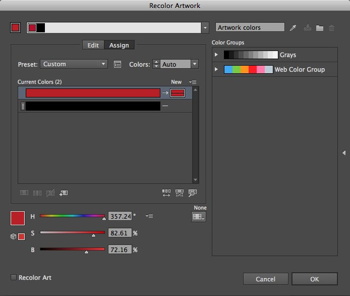 Need to change your cmyk swatch quickly to a PMS color? No time? Good, check out this tutorial!
