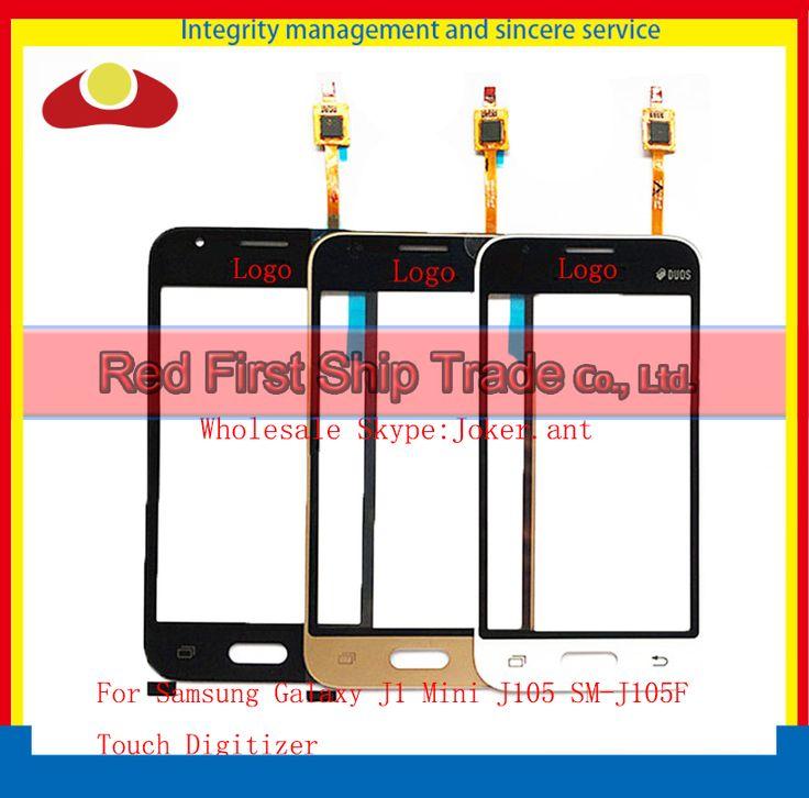 "High Quality 4.0"" For Samsung Galaxy J1 Mini J105 SM-J105F Touch Screen Digitizer Sensor Front Glass Lens Black White Gold"