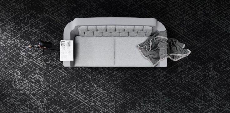 Celoplošný koberec nebo kobercové čtverce, zátěžová podlaha, podlahy BOCA. / Wall-to-wall carpet or carpet tiles / contract floor.