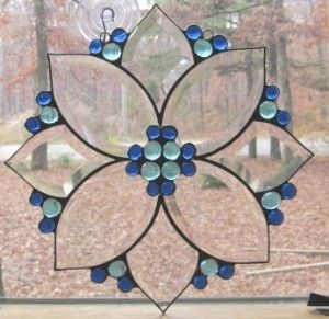 Stained Glass Bevel Clusters Sale | Stained Glass Panel,...