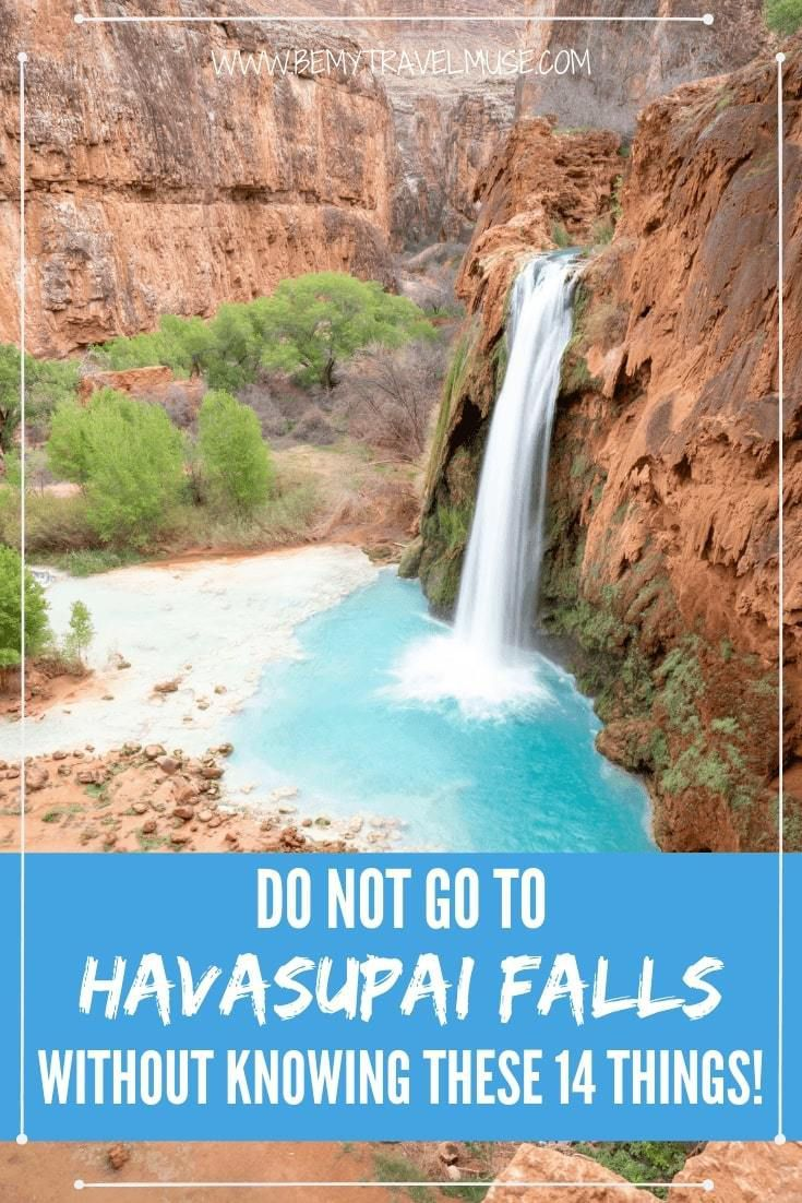 14 Things You Need To Know About The Havasu Falls Hike Havasu Falls Hike Havasu Falls Havasupai Falls