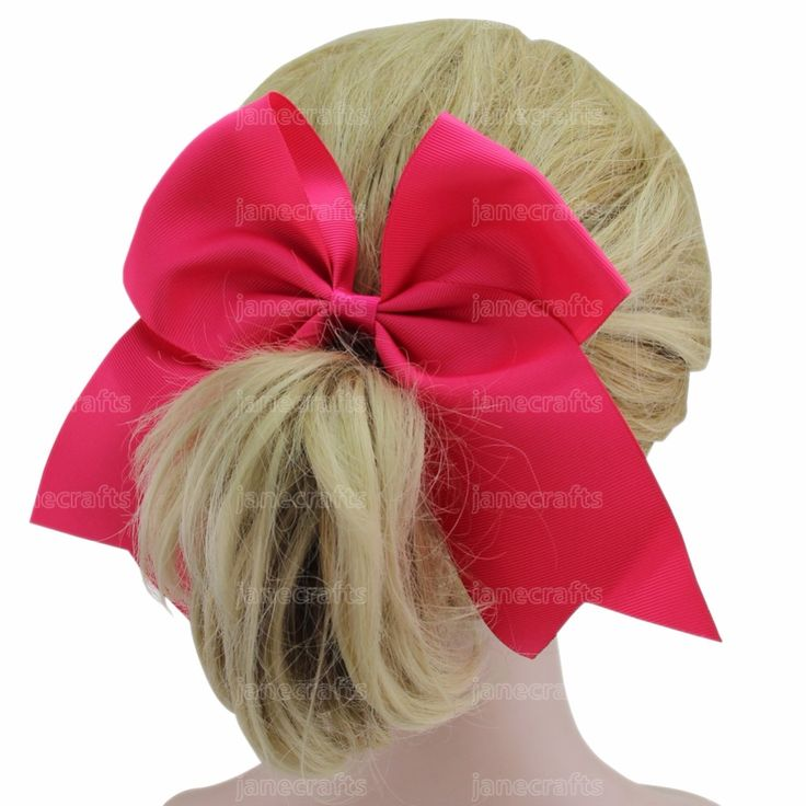 "12 Pcs/Lot 7"" large hair bow With clips Children Girl Hairbow Teens hair bow Boutique bows Hairpins Hair accessories  #Affiliate"