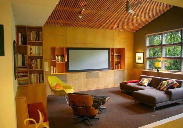 Conception salon avec des plafonds voûtés ~ Décoration Salon / Décor de Salon