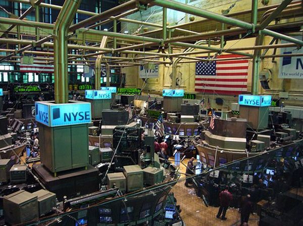 View from the Member's Gallery of the NYSE
