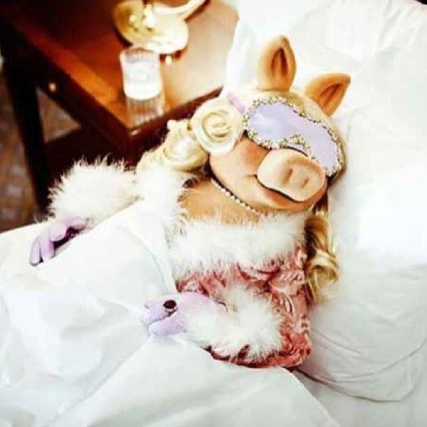 Take a tip from Miss piggy's book. Casual will NEVER be vogue. Love it!!!