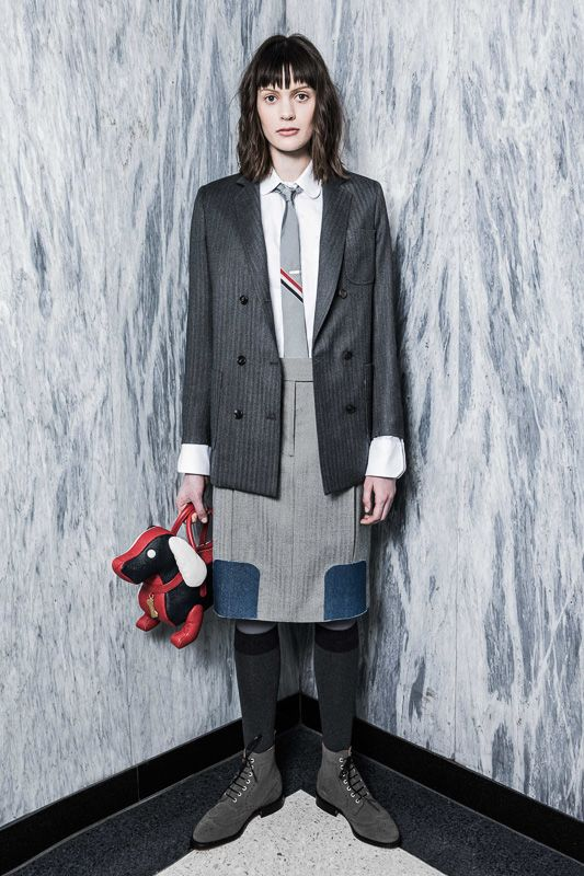 THOM BROWNE. NEW YORK 2016 Pre-Fall Collection