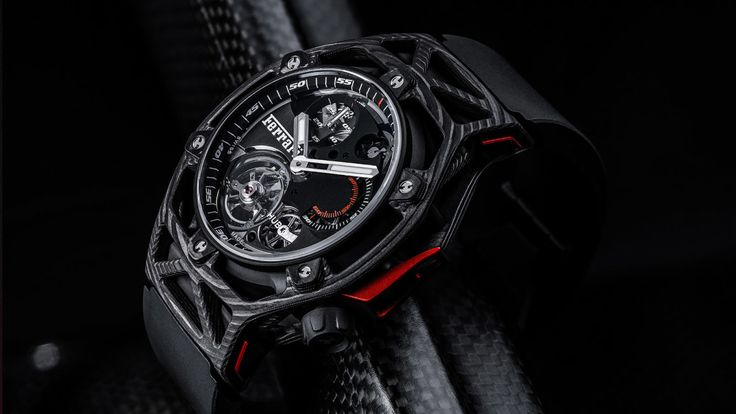 Ferrari Celebrates Its 70th Anniversary With High-Class Hublot Chronograph. The ultimate timepiece for ultimate performance.