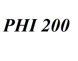 PHI 200 Entire Class Course Answers Here: http://www.scribd.com/collections/4215781/PHI-200