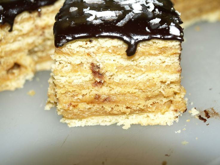 Caramel Cream Layer Cake Recipe — Dishmaps