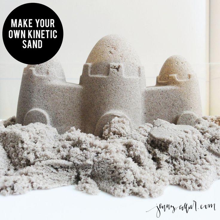 DIY - Make your own kinetic sand