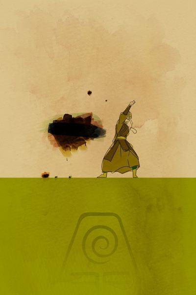 Avatar Kyoshi by Leesherv - Dessin animé: Le dernier maître de l'air