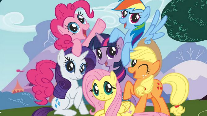 'My Little Pony' Movie in the Works at Hasbro Studios - Film will join 'Jem and the Holograms' as the first to be produced through Allspark Pictures