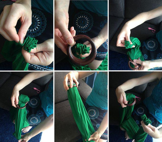 DIY Mesh Water Ring Sling
