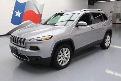 eBay: 2016 Jeep Cherokee 2016 JEEP CHEROKEE LIMITED 4X4 REAR CAM HTD SEATS 23K #250449 Texas Direct Auto #jeep #jeeplife
