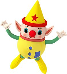 Yellow Elf balloon Macy's Parade