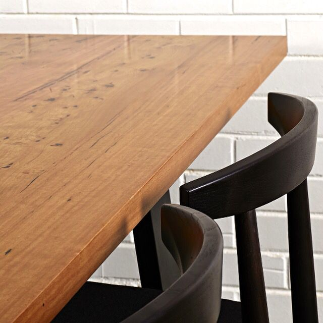 Stunning Bespoke Furniture (Richmond); dining table crafted from Birdseye Silvertop Ash