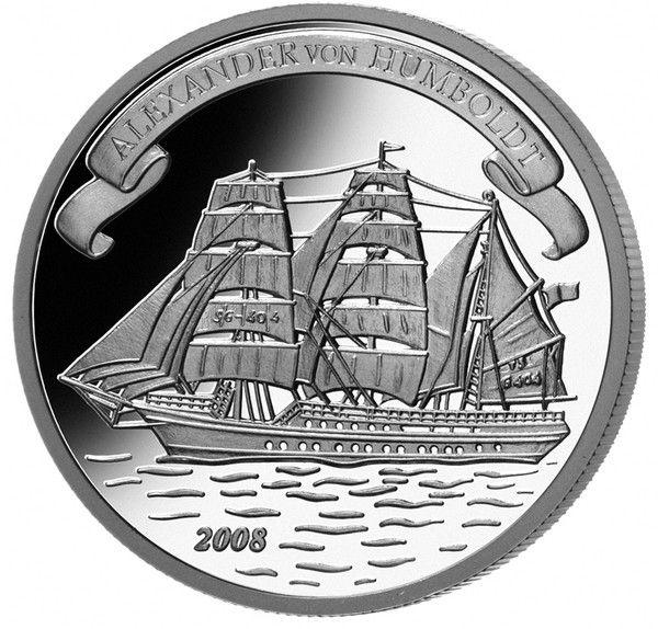 Cook Islands, $2, 2008.  Alexander von Humboldt