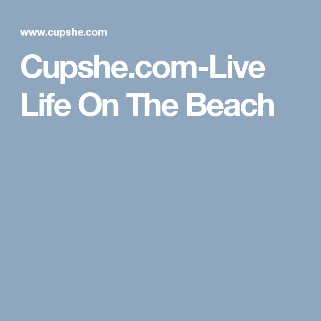 Cupshe.com-Live Life On The Beach
