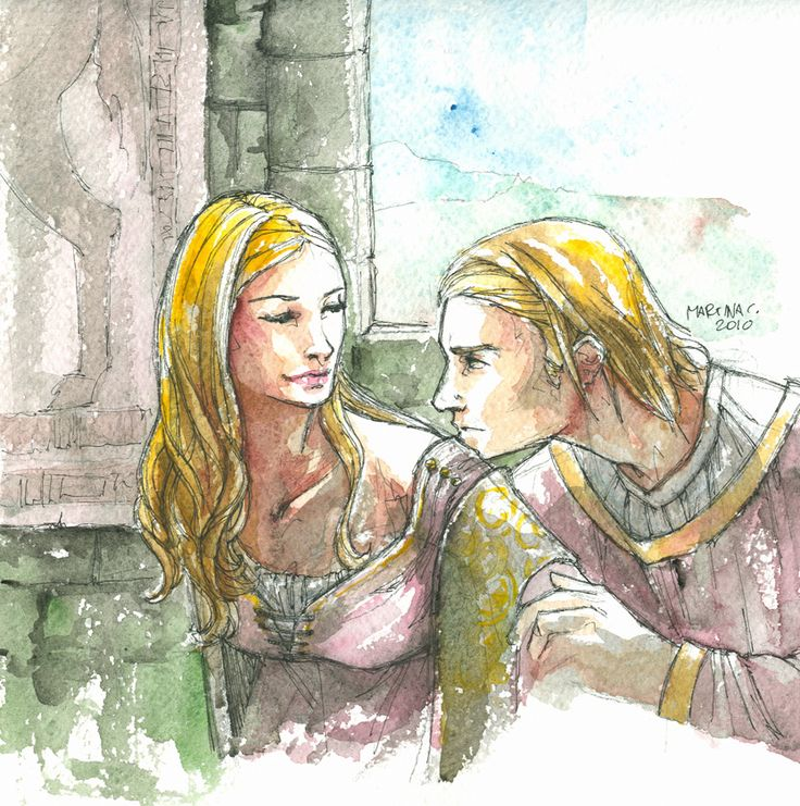 Cersei Lannister is Tywin's eldest child by mere moments and the twin sister of Jaime Lannister. Description from deviantart.com. I searched for this on bing.com/images