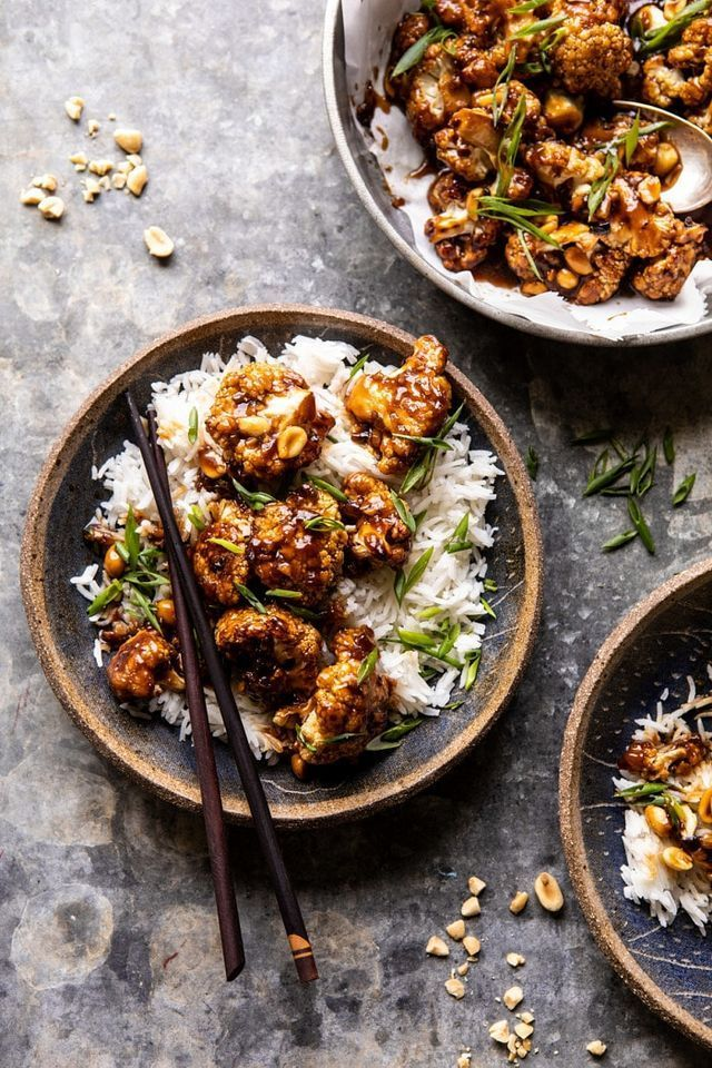 Extra Sticky Kung Pao Cauliflower Recette Avec Images