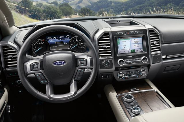 The Instrument Panel Inside The 2019 Ford Expedition Ford