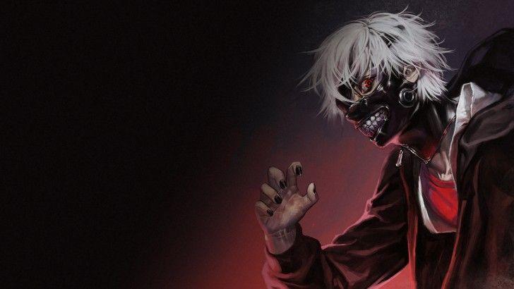 Ken Kaneki Mask White Hair Tokyo Ghoul 1920×1080