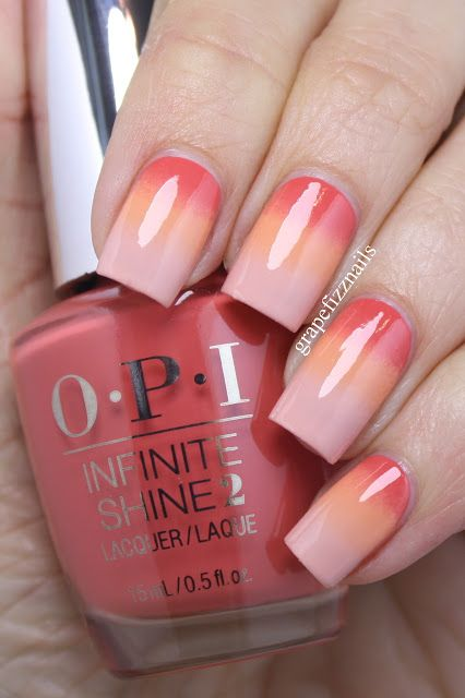 Gradient Manicure, Liquid Palisade Review | grape fizz nails | Bloglovin'