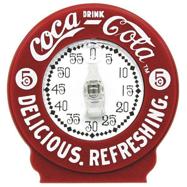 Be Still My Heart! A Coca-Cola kitchen timer. <3