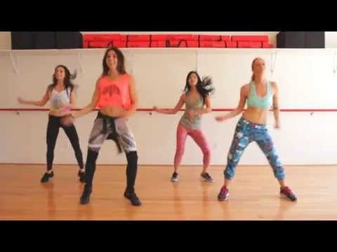 Watch Sophie demonstrate a Zumba Fuego dance in this video. It will help you learn some of the steps before you go to your first Zumba class. Don't feel nerv...
