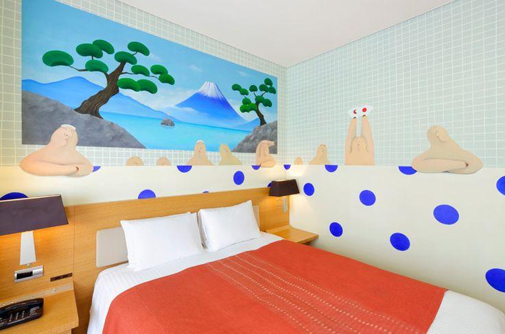 Artist in Hotel -no.11「銭湯」右田啓子