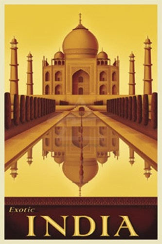 Exotic India Art Print by Steve Forney