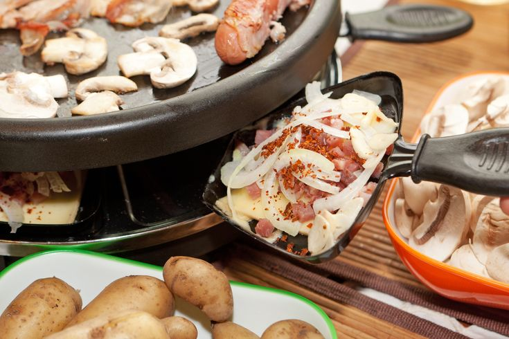Raclette dinner party recipes This is a fun social dinner- highly recommend...just add wine & conversation! GS  The best of Swiss flavors in your dish 8998b721a2655b5e9b4b9c26a0abd74f