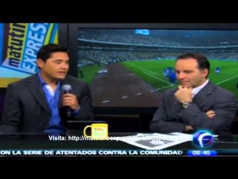 Moises Muñoz @MoyMu23 Porterazo americanista y héroe del momento en el Matutino Express FOROtv - YouTube