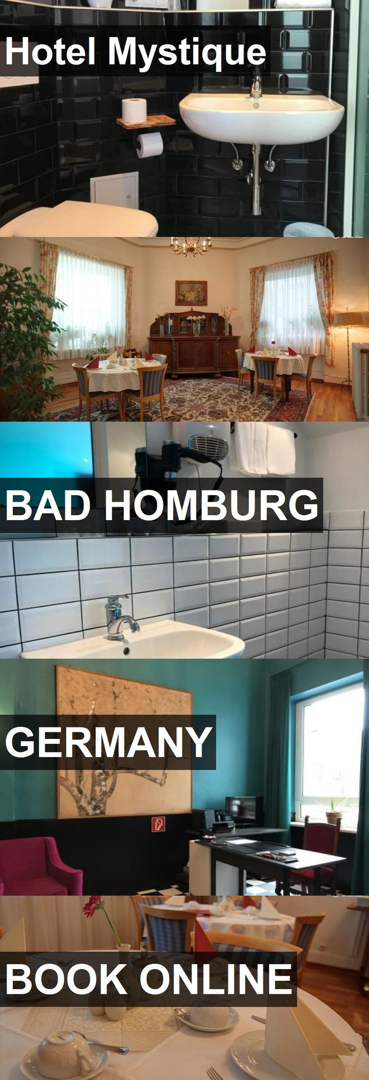 Hotel Mystique in Bad Homburg, Germany. For more information, photos, reviews and best prices please follow the link. #Germany #BadHomburg #travel #vacation #hotel