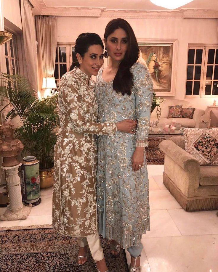 "78.3k Likes, 199 Comments - Manish Malhotra (@manishmalhotra05) on Instagram: ""#TheMost #Beautiful #Sisters @therealkarismakapoor #KareenaKapoor #Gorgeous Both in…"""