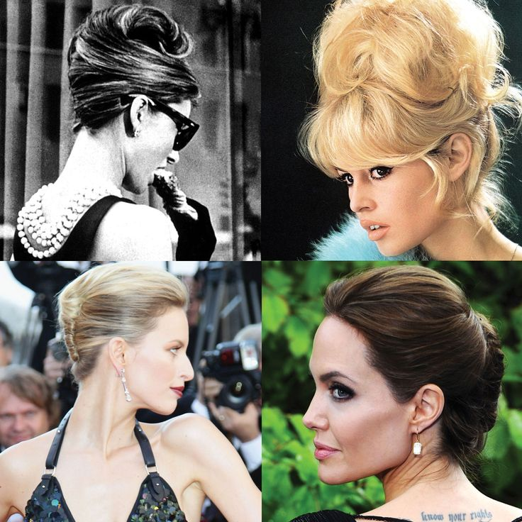Try a chic french twist this fall- our 10 favorite hairspiration: