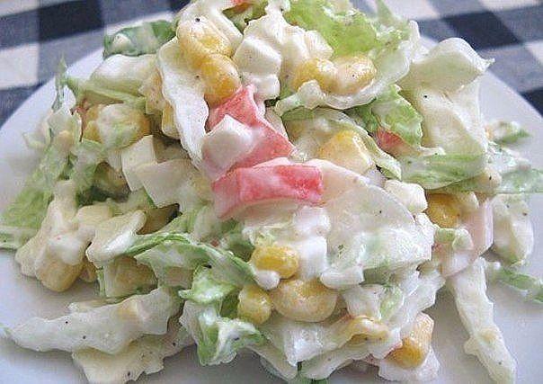 9 вкусных салатиков лёгкого приготовлени