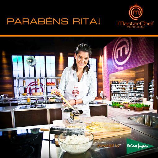 O Supermercado El Corte Inglés felicita todos os participantes desta edição do MasterChef Portugal e dá os parabéns à Rita, pela grande vitória!  http://www.tvi.iol.pt/masterchef  #mastercheftvi
