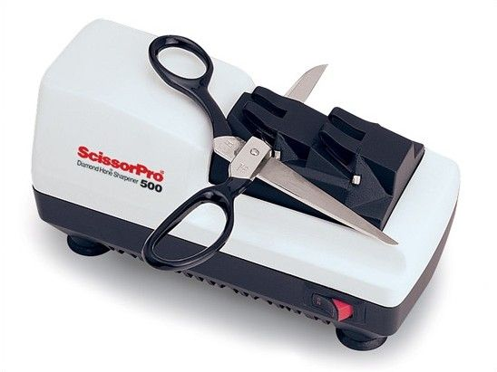 ScissorPro Hone Diamond Coated Stainless Steel Scissor Sharpener