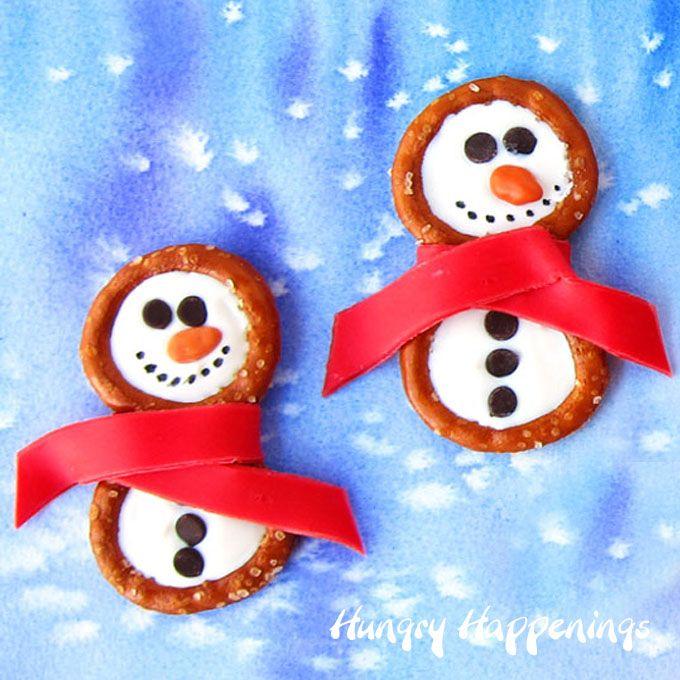 how to make edible christmas crafts