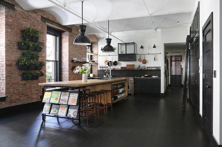 Disegno Parete Cucina: Veduta del piano cucina blade di modulnova e ...
