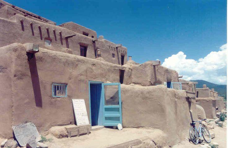 indian adobe houses - photo #16